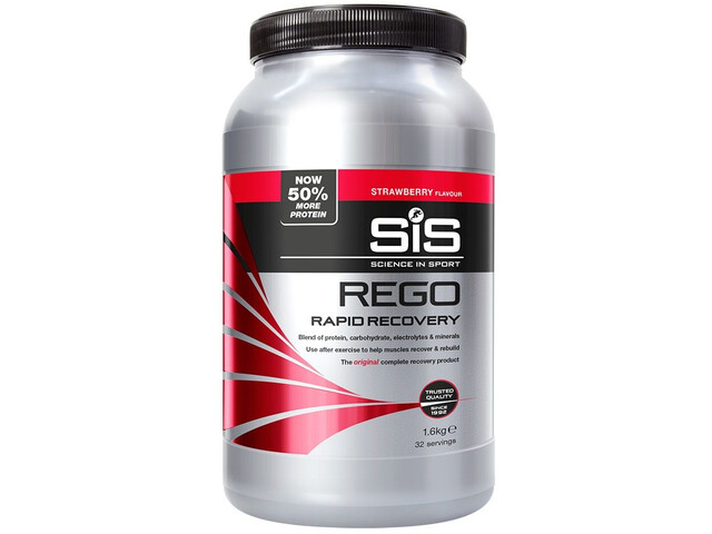 SiS Rego Rapid Recovery Pot 1,6kg, Strawberry